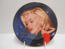 Marilyn Monroe In The Spotlight Collector Plate Hamilton Collection 1995
