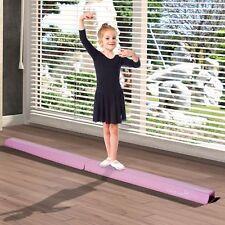 New Gymnastics Training Equipment Balance Beam Home Folding Gym Bar 8 Feet Long