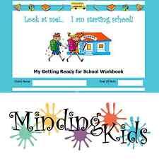 READY FOR SCHOOL WORKBOOK - Help children prepare for starting school.
