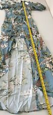 River Island Ruched Front Floral Print Maxi dress  Size UK14 RRP£70 {N73#