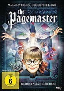 Pagemaster - Richies Fantastische Reise - Deutsche Fassung - Macaulay Culkin DVD
