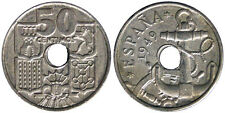 50 Centimos 1949 Spagna Spain Espana #3910A