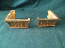 2 bronzes d ornement sabot No 2