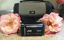 JVC Everio Hard Disk Camcorder GZ MG360 BU AS IS