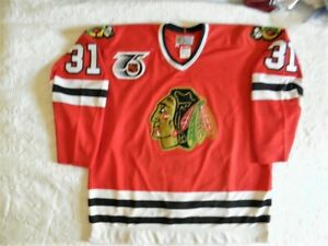 CCM Authentic Chicago Blackhawks Dominik Hasek ROOKIE jersey 52 90s vintage RARE