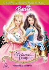 Barbie - The Princess And The Pauper. Brand New Sealed DVD. Region 4 (Australia)