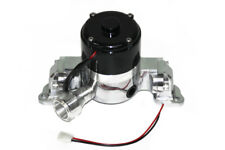 SBC High Volume Polished Electric Water Pump  Pro Street Race Car