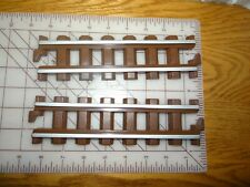 Lot of 2 Lincoln Log Woodland Express Straigh Tracks Replacement forTrain