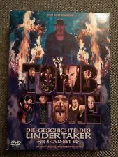 Tombstone : Die Geschichte des Undertaker / 3 Dvd Set / Die größten Kämpfe /