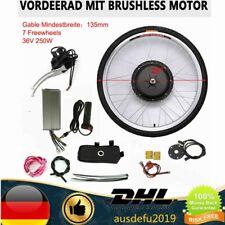 E-bike Conversion Kit 28'' Elektrofahrrad Vorderrad Umbausatz 36V 250 Watt motor