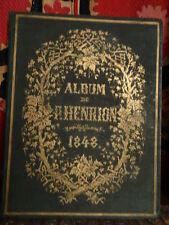 album de Paul Henrion 12 romances, chansonnettes  lithographies de Jules David
