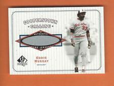 2001 SP AUTHENTIC COOPERSTOWN CALLING EDDIE MURRAY GAME-USED JERSEY #CC-EM
