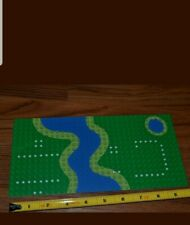 "LEGO 32 x 32 Stud 10 by 10/""  BASE PLATE Terraced River Ocean Ground Plate 1990/'s"