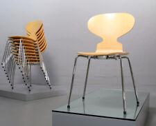 4x la Formica-Sedia 3101 Arne Jacobsen Fritz Hansen Acero Maple ANT 19% IVA