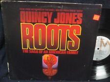 "Quincy Jones ""Roots"" The Saga of an American Family LP"