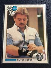 RARE 1990 Kingpins PBA Bowling #63  Butch Soper (Tustin, CA)  NM/MT+