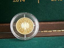 20 EURO GOLD BRD 2015 Linde (999 Gold)  Prägestätte J Hamburg incl. Etui