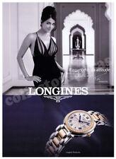 LONGINES Aishwarya Rai ladies wrist watch advertisement A4 size HQ print