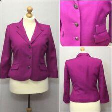 Cappotti e giacche da donna rosa formale in lana