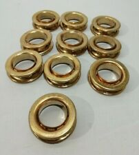 10x Large Brass Eyelets Grommet 48mm - Ex Army Surplus Job Lot