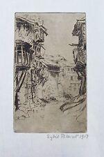 1913 Srinagar Jammu and Kashmir India - Fine Print by Sybil Allan Blunt