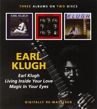 EARL KLUGH - EARL KLUGH/LIVING INSIDE YOUR LOVE 2 CD NEU