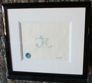 """""""BUGS BUNNEY'S BUSTIN' OUT ALL OVER"""" Original Pencil Drawing Signed Chuck Jones"""