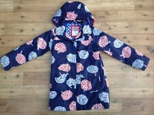Girls Mini Boden Spring Blue coat size age  9 -10 years