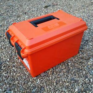 MTM CASE GARD ORIGINAL AC35 AMMO BOX FIELD BOX STORAGE BOX TOOL BOX - ORANGE