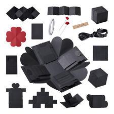 Creative Explosion Box Love Memory Multi-layer DIY Photo Album Black