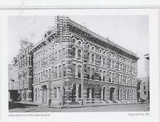 """~Post Card~""""Galveston Cotton Exchange Building"""" /1878/-.Galveston, Texas (A9-2)"""