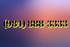 984 easy vanity phone Number biz class 984-888-3333 Double Repeat