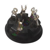 10pc 5Pin Bakelite Vacuum Tube Sockets Value for FD422 807 audio amps radio DIY