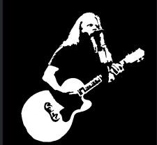 David Allan Coe Country Western Singer Songwriter Guitar Vinyl Sticker Decal