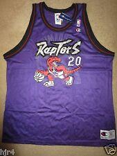 Damon Stoudamire #20 Toronto Raptors NBA Champion Jersey 52 deadstock NEW Rookie