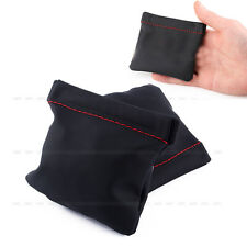 Black PU Leather Replacement Carrying Pouch Case Storage Carry Bag For Headphone
