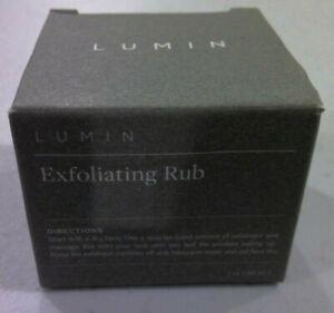 Lumin Skin Exfoliating Rub, For Face, 1 oz / 30mL  NEW