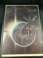 Frank Kelly Freas Signed Science Fiction Litho 235/500 Framed Limited Edition