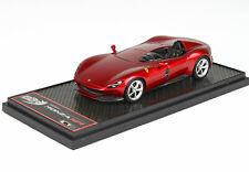 Ferrari Monza  SP1Rosso Magma Met. 1/43 lim.ed.300 BBRC220B BBR Models