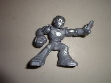 Marvel Super Hero Squad Iron Man Modern Suit Variant Gray/Silver Armor 2006