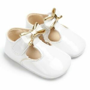 Shallow Hook And Loop Non-slip Shoes For Babies Soft-sole Solid Pattern Footwear
