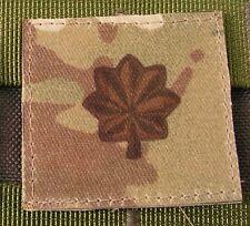 Galons US - MAJOR - grade scratch MULTICAM rank insignia SNAKE PATCH