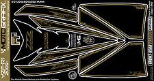 Yamaha R1 2009 - 2014 Front & Rear Fairing Number Board Motografix Gel Protector