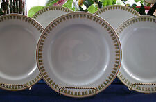HAVILAND LIMOGES- DINNER PLATE(s)-GILT/GREEN BORDER-EXCELLENT! ELEGANT! MINT!