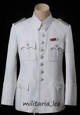 WW2 Repro German Waffen/Heer White Cotton Tunic All Sizes