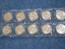 1989 China Panda Silver Mint Sealed Gem Brilliant Uncirculated Lot of 10 B8615