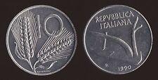 10 LIRE 1990 SPIGHE E ARATRO - ITALIA FDC/UNC FIOR DI CONIO