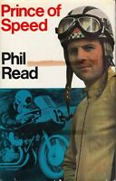 Phil Read PRINCE of SPEED ~ 1st Edition 1970 ~ Motorcycle Racing Autobiography