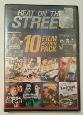 Heat on the Street: 10 Movies (DVD, 2012, 2-Disc Set) Brand New Sealed