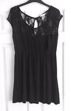 New Look Black Lace Dress Size 18